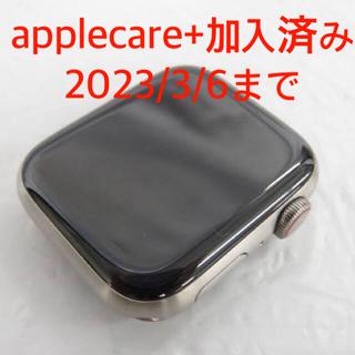 アップルウォッチ(Apple Watch)の美品 チタン Apple Watch Series 5 edition 44mm(腕時計(デジタル))