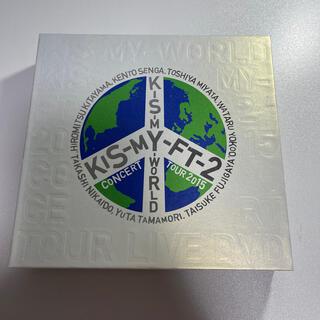キスマイフットツー(Kis-My-Ft2)のKis-My-WORLD 初回盤(アイドルグッズ)