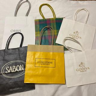 サボン(SABON)の紙袋セット(ショップ袋)