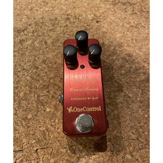 ONE CONTROL CRANBERRY OVERDRIVE ワンコントロール(エフェクター)