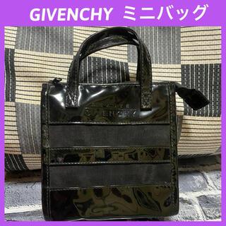 ジバンシィ(GIVENCHY)のGIVENCHY ビニール製 ジバンシィ ミニバッグ ポーチ(ポーチ)