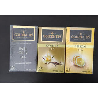 GOLDENTIPS フレーバーティー 25個x3=75個(茶)