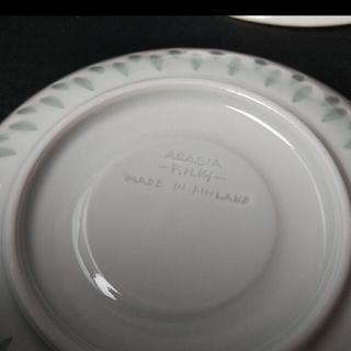 アラビア(ARABIA)のARABIA ライス カップ&ソーサーセット(グラス/カップ)