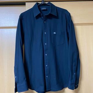ラコステ(LACOSTE)のラコステ長袖シャツ黒(XS)(シャツ)
