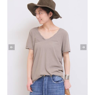 ドゥーズィエムクラス(DEUXIEME CLASSE)の【新品未使用 タグ付き】Garment Dye T ベージュ(Tシャツ(半袖/袖なし))