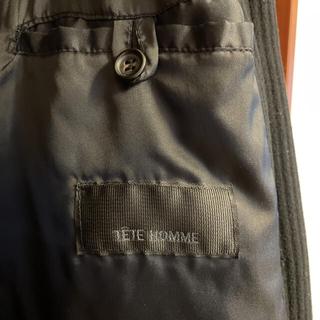 テットオム(TETE HOMME)の【状態良】TETE HOMME(テットオム)ダッフルコート 濃紺 L相当(ダッフルコート)