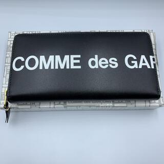コムデギャルソン(COMME des GARCONS)の新品 COMME DES GARCONS HUGE LOGO WALLET 財布(長財布)