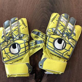 ウールシュポルト(uhlsport)のキッズサッカー手袋(ウェア)