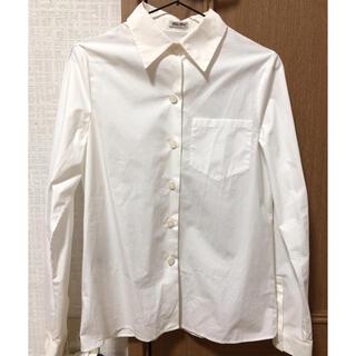 ミュウミュウ(miumiu)の【未使用】 miumiu シャツ  (Tシャツ(長袖/七分))