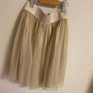 ロイスクレヨン(Lois CRAYON)のLois CRAYON Mサイズ レディース シフォンスカート 美品 かわいい(ひざ丈スカート)