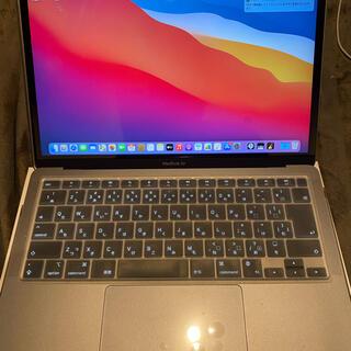 アップル(Apple)の【美品】13インチMacBook Air - スペースグレイ(ノートPC)