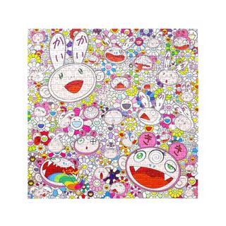 メディコムトイ(MEDICOM TOY)の【新品】Kaikai & Kiki & FLOWERS パズル 4個セット(その他)