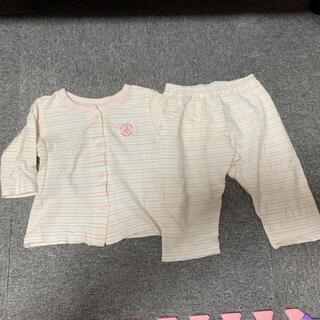 ニシマツヤ(西松屋)の女の子パジャマ80(パジャマ)
