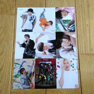 ジャニーズ(Johnny's)のちっこい Myojo1月号 カード(アート/エンタメ/ホビー)