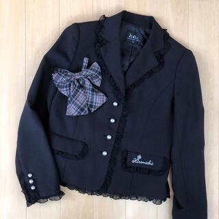 ヒロミチナカノ(HIROMICHI NAKANO)のヒロミチナカノ☆ 卒服 ジャケット リボン 2点セット 160(ジャケット/上着)