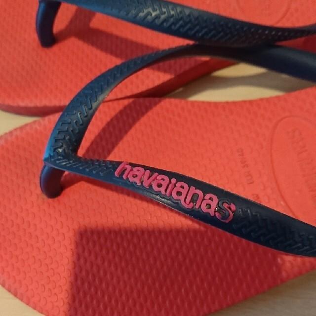 havaianas(ハワイアナス)のハワイアナス ビーチサンダル 37-38 レディースの靴/シューズ(ビーチサンダル)の商品写真