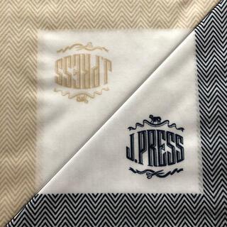 ジェイプレス(J.PRESS)のJ.PRESS ハンカチセット(ハンカチ/ポケットチーフ)