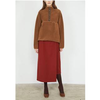 コモリ(COMOLI)のGraphpaper Wool Boa Hi-Neck Pullover(ブルゾン)