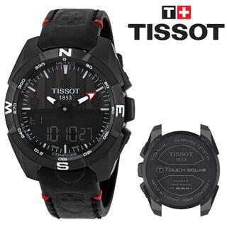 ティソ(TISSOT)の新品 ティソ Tisso T-Touch ティータッチ Black Dial(腕時計(アナログ))