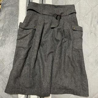 プーラフリーム(pour la frime)のひざ丈スカート(ひざ丈スカート)