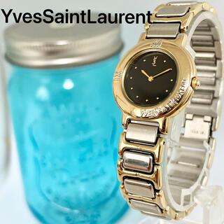 Saint Laurent - 130 イヴサンローラン時計 レディース腕時計 新品電池 ブラック