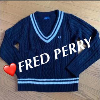 フレッドペリー(FRED PERRY)の❤️FRED PERRY チルデンセーター(ニット/セーター)