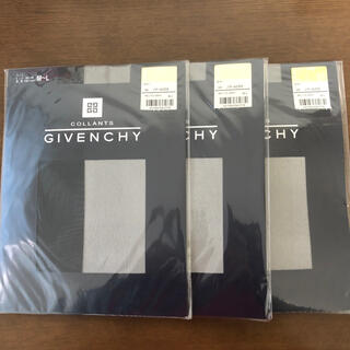 ジバンシィ(GIVENCHY)のジバンシー ストッキング ノアール(黒) 3足セット(タイツ/ストッキング)