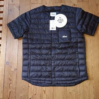 ナンガ(NANGA)のクーポン記念値下 ナンガNANGAダウンTシャツ サイズL 新品未使用(ダウンベスト)