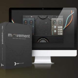 【正規品】Output Movement v1.1|FXプラグイン(ソフトウェアプラグイン)