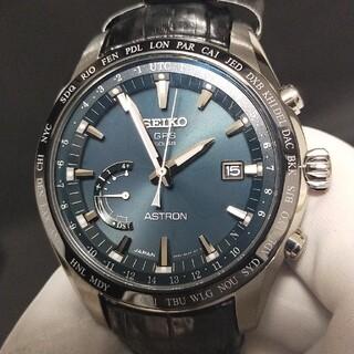 セイコー(SEIKO)の★美品★セイコー アストロン SBXB115 グリーン文字盤(腕時計(アナログ))