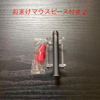 プルームテック(PloomTECH)のP1288番プルームテック 純正 バッテリー1本おまけマウスピース付きブラック(タバコグッズ)