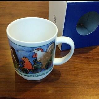 アラビア(ARABIA)のARABIA ヘルヤ マグカップ(グラス/カップ)