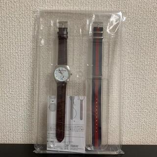 タカラジマシャ(宝島社)のスプリング3月号増刊 付録 スヌーピー替えベルト付き腕時計(腕時計)