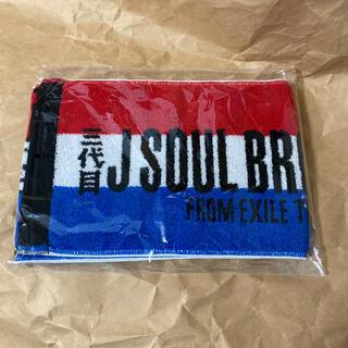サンダイメジェイソウルブラザーズ(三代目 J Soul Brothers)の三代目 タオル 新品未開封(タオル)
