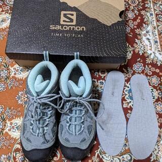 サロモン(SALOMON)のサロモンAuthentic LTR Goretex Lead 23cm(登山用品)