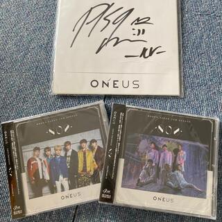 ボウダンショウネンダン(防弾少年団(BTS))のoneus CD 新品未開封 レイブンサイン付き(K-POP/アジア)
