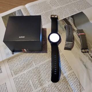 トムブラウン(THOM BROWNE)の【単品非売品】Galaxy watch Active2  トムブラウン 完全限定(腕時計(デジタル))