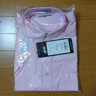 アイトス(AITOZ)のAITOZ 襟付き半袖シャツ ピンク (未使用)(シャツ)
