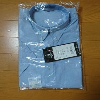 アイトス(AITOZ)のAITOZ 襟付き半袖シャツ サックス(ブルー) (未使用)(シャツ)