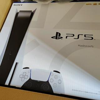 ソニー(SONY)のPS5ディスクドライブ搭載モデル未開封新品(家庭用ゲーム機本体)