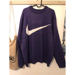 Supreme - Supreme Nike Swoosh Sweater purple XL