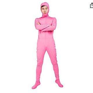 全身タイツ ピンク Mサイズ(衣装)