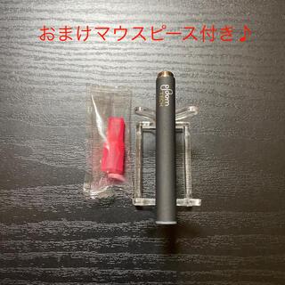 プルームテック(PloomTECH)のP1293番プルームテック 純正 バッテリー1本おまけマウスピース付きブラック(タバコグッズ)