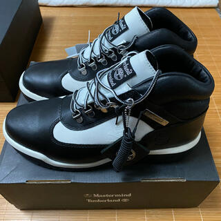 マスターマインドジャパン(mastermind JAPAN)のTIMBERLAND X MASTERMIND FIELD BOOT BLACK(ブーツ)