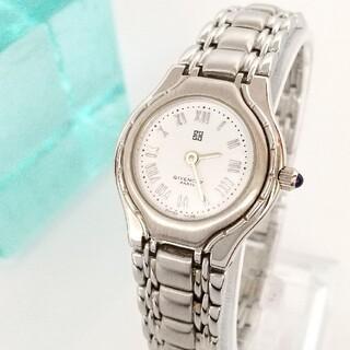 GIVENCHY - ⭐OH済 綺麗 ジバンシー 白 新品仕上げ レディース腕時計ウォッチ 着物 美品