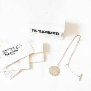 ジルサンダー(Jil Sander)の正規品 JIL SANDER シルバーネックレス(ネックレス)