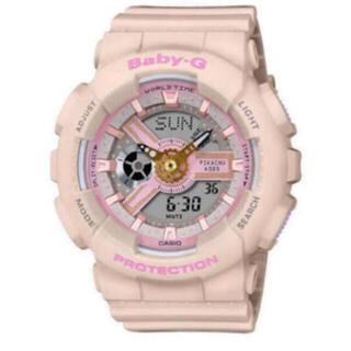 ベビージー(Baby-G)のCASIO カシオ BABY-G ベビージー ピカチュウコラボレーションモデル (腕時計)