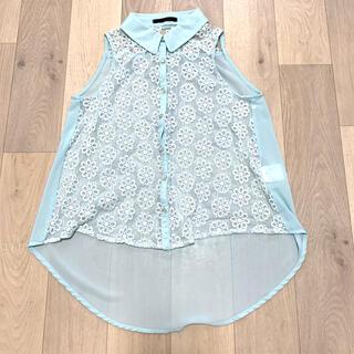 アルブム(ALBUM)のALBUM 花柄 レース シャツ(シャツ/ブラウス(半袖/袖なし))