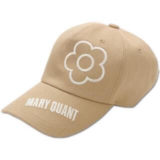 マリークワント(MARY QUANT)の新品 マリークワント デイジー刺繍キャップ ベージュ(キャップ)