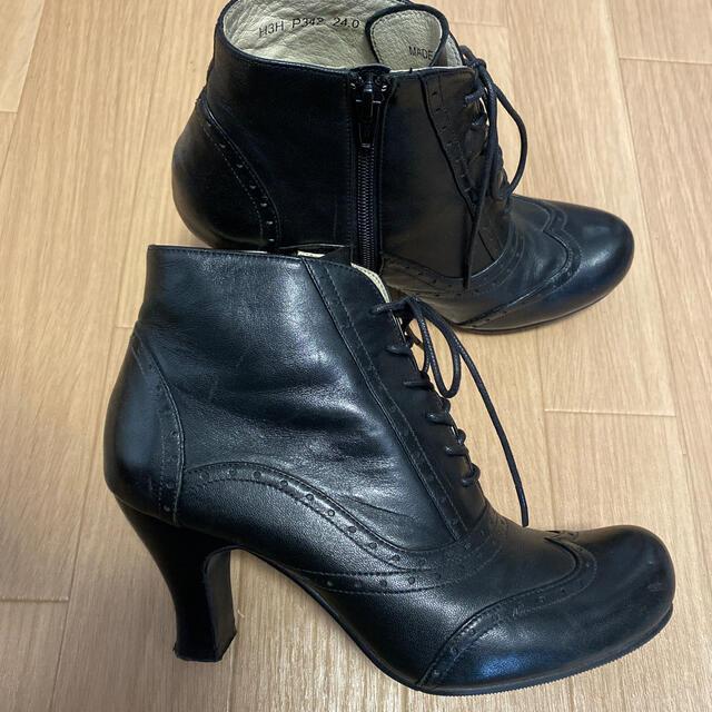 REGAL(リーガル)のREGAL レースアップ ショートブーツ 24cm レディースの靴/シューズ(ブーツ)の商品写真